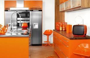 As cores, além de deixarem a cozinha mais estilosas, podem trazer um ar divertido e descontraído para o ambiente