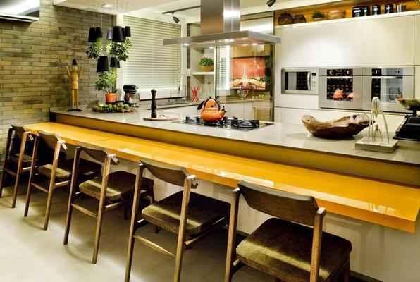 Sugestão para Cozinha das arquitetas Larissa Maffra e Marina Bastos
