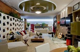 Um dos destaques do evento é o Studio Ivete Sangalo projetado pela arquiteta Mariela Romano