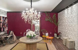 Sala de Espera do Banheiro Público Feminino/Rivany Farias