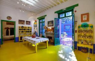 La Casa Azul era a casa dos pais de Frida Kahlo, no bairro de Cocoyacán, Cidade do México. Mais tarde, virou a residência de Frida Kahlo e de seu marido, o muralista e pintor Diego Rivera. Lá eles viveram de 1929 a 1954. Depois da morte de Frida, o lugar virou o Museu Frida Kahlo e é um dos pontos mais visitados do México.