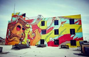 Street art feita pelo BSF em Portugal