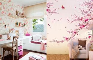 As estampas florais deixam o ambiente com um ar romântico e leve