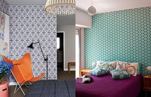 Outros padrões também garantem personalidade ao espaço, com cores e formas variadas