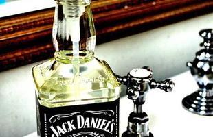 Use garrafas na decoração