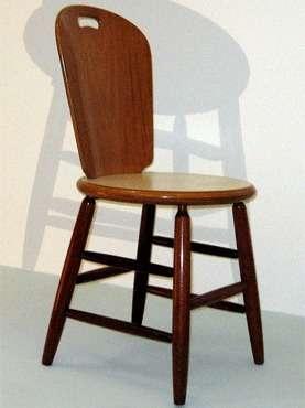 Cadeira São Paulo, criação famosa de Carlos Motta, design que mostrará seu trabalho em Brasília  - Carlos Motta/Divulgação/D.A Press