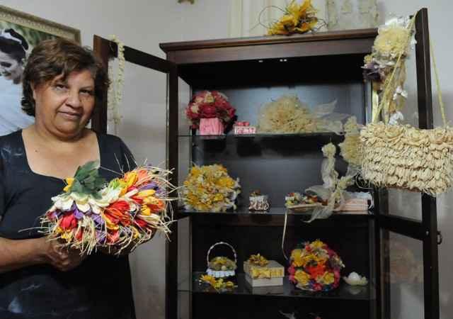 Para a dona do negócio, Roze Mendes, sustentabilidade e beleza dos produtos andam juntas - Adauto Cruz/CB/D.A Press