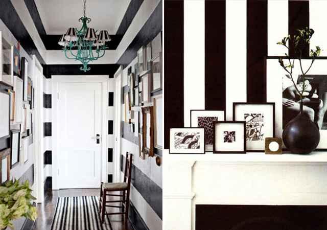 Com o branco e o preto, qualquer cor fica bem. Elas fazem com que os ambientes fiquem sóbrios, sofisticados e modernos - Reprodução/Internet