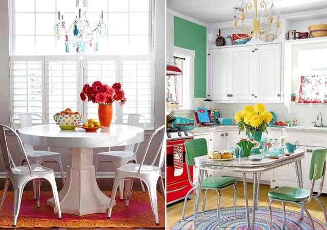 No jardim, na sala, no quarto ou na varanda. Coloridas, as flores têm o poder de renovar qualquer espaço - Reprodução/Better Homes and Gardens e Country Living
