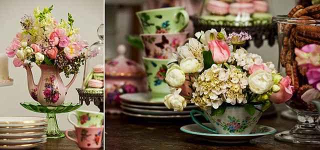 Romanticas e bonitas, as flores servem como decoração para as mesas  - Reprodução/Internet