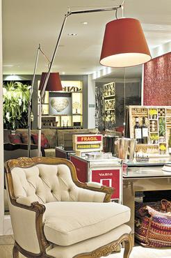 Uma confortável poltrona é item essencial no projeto da arquiteta Marcela Passamani - Arquivo Pessoal