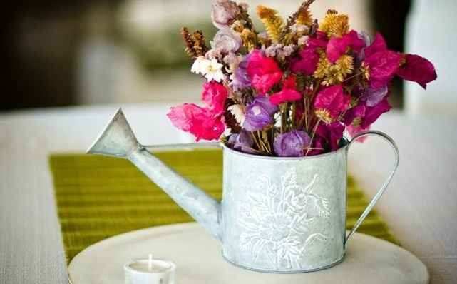 É possível abusar da criatividade - vários objetos podem servir de vasos para as plantas  - Moniky Alves/Divulgação