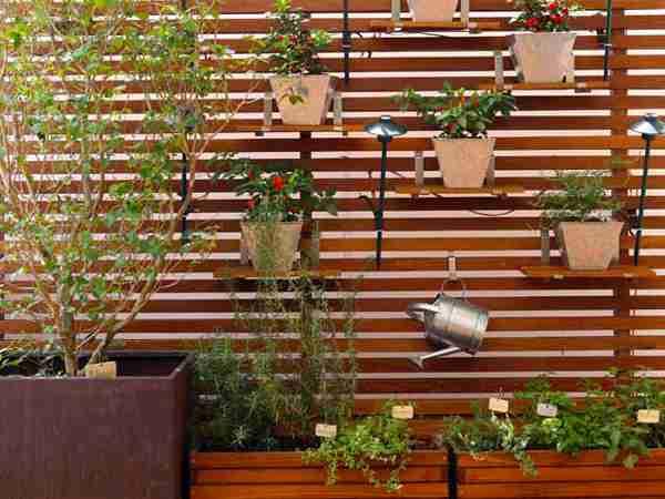 Para quem não tem muito espaço, os jardins verticais são ótimas opções para decorar - Reprodução/Internet