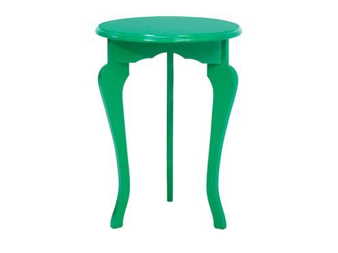 Mesa redonda tripé Florata da Meu móvel de madeira %u2014 R$ 229 -