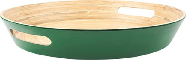 Bandeja verde-bandeira Bamboo, na Copa & Cia %u2014 R$ 54,90 -