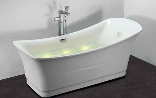 Banheira promete harmonizar o corpo através das cores e acelerar o metabolismo basal que gera a queima de calorias - Divulgação