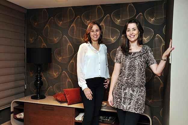 As arquitetas Andréa e Juliana Paim dizem que tons neutros com textura valorizam adornos - Eduardo de Almeida/RA Studio