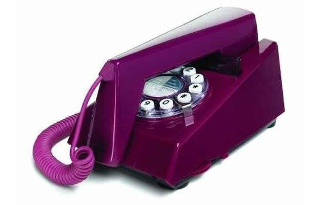 O Telefone Trim é em estilo retrô, e está sendo vendido por R$ 305 - Divulgação