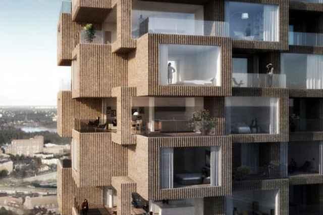Com volumetria escalonada, todos os apartamentos contarão com terraços generosos e vistas panorâmicas da região - Divulgação