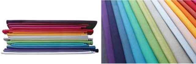 Nova linha de lonitas possui um mix de quase cinquenta cores e passam por tratamento hidrorepelente, que não afeta a intensidade das cores  - Divulgação