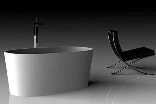 É utilizada em requintados ambientes e possibilita flexibilidade ao projeto de arquitetura - Divulgação/Doka