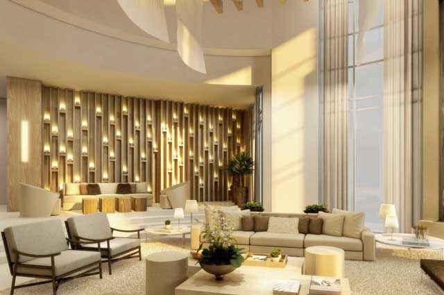 Welcome Lounge foi pensado e projetado para transmitir sensibilidade e aconchego aos visitantes logo na entrada - Artefacto/Divulgação