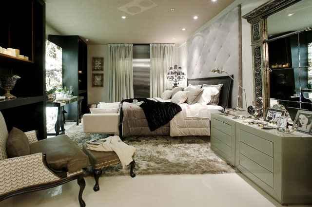No inverno a disposição de todos elementos na cama são importantes para o aconchego e sofisticação na decoração; criação da designer Dora Lettieri - Dora Letieri/Divulgação