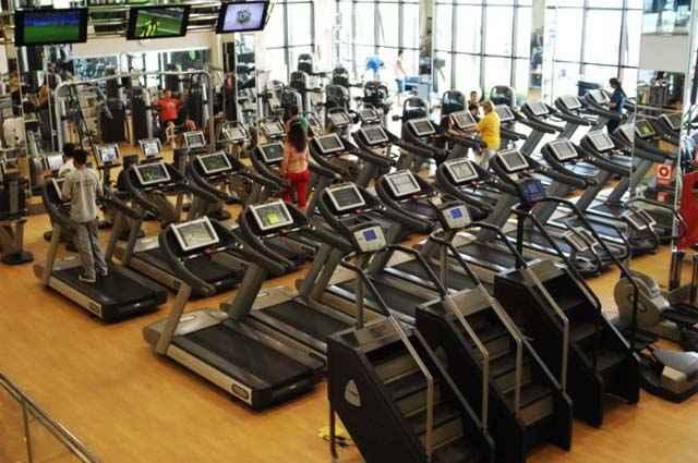 Espaço fitness possibilita ao condômino acesso a aparelhos de ginástica e musculação sem sair de casa - Iano Andrade CB D.A Press