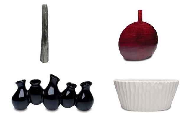 Vasos permitem abusar da criatividade, com seus formatos, cores e materiais diferentes podem provocar efeitos distintos em ambientes diversos - Divulgação/Casa da Notícia Comunicação