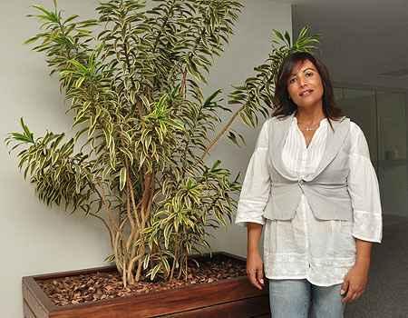 A paisagista e gestora ambiental Rozalia Iris diz que é preciso escolher a espécie conforme o ambiente - Eduardo de Almeida/RA Studio