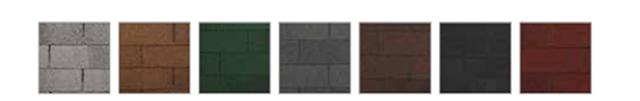 Cores disponibilizadas no padrão de telhas apresenta grande variedade - Divulgação/Brasilit