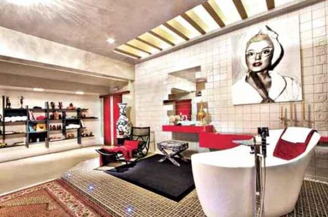 Sala de banho projetada pelo arquiteto Gerson Dutra de Sá na Casa Cor 2013 - Divulgação/Marcio Souza