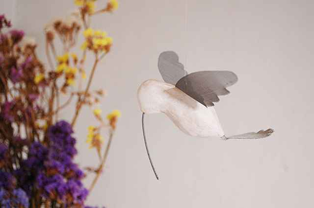 O beija-flor é uma das espécies mais retratadas na decoração - Carlos Altman/EM/D.A Press