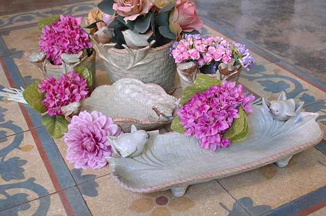 Objetos que remetem a pássaros podem ser usados em vários tipos de decoração - Carlos Altman/EM/D.A Press