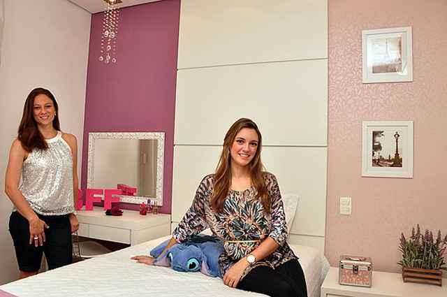 As designers de interiores Laura Santos e Fabiana Visacro dizem que projeto depende muito do perfil do cliente e sua rotina - Eduardo Almeida/RA Studio
