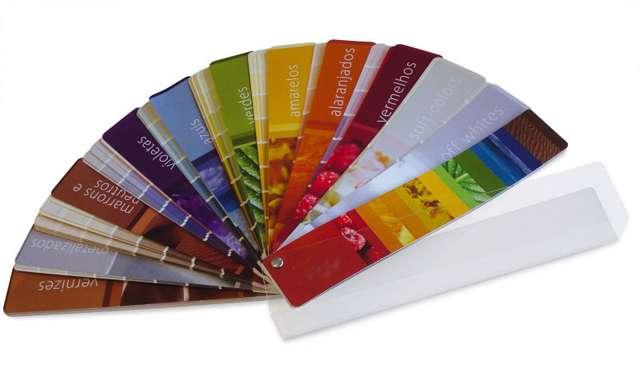 As apostas de cores da fabricante são incrementadas com 15 novas tonalidades, totalizando 39 opções diferentes - Divulgação/Solventex
