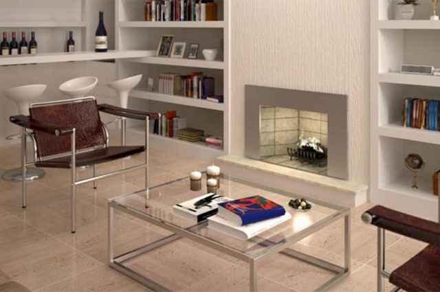 Ambientes com lareira são ideais para aquecer dias frios, garantindo aconchego e uma boa recepção para convidados - Divulgação/Polytec