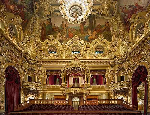 Opéra de Monte Carlo, Mônaco - David Leventi/Divulgação