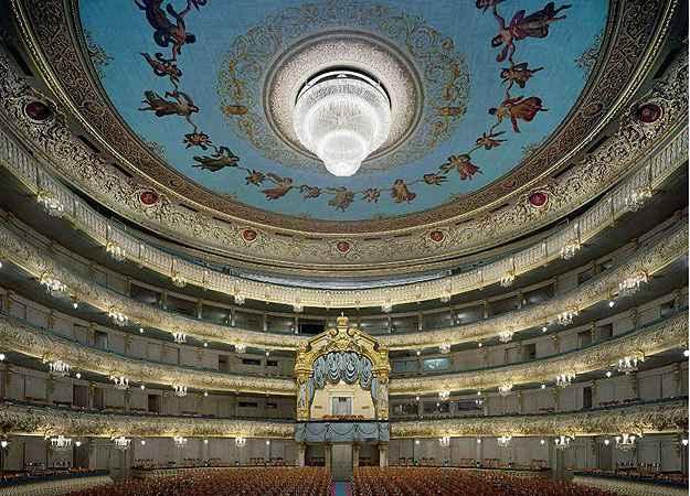 Teatro Mariinsky, São Petersburgo  - David Leventi/Divulgação