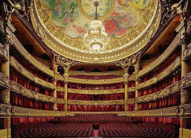 Palais Garnier, Paris  - David Leventi/Divulgação