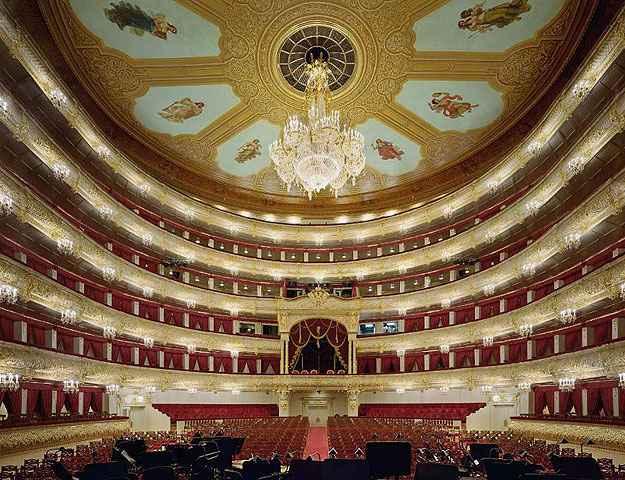 Teatro Bolshoi, Moscou  - David Leventi/Divulgação