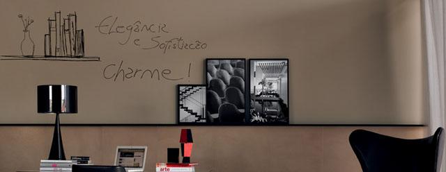 Utilização de objetos decorativos circulares, quadrados, retangulares e em zigue-zagues se tornou tendência na decoração de ambientes - Portobello/Divulgação
