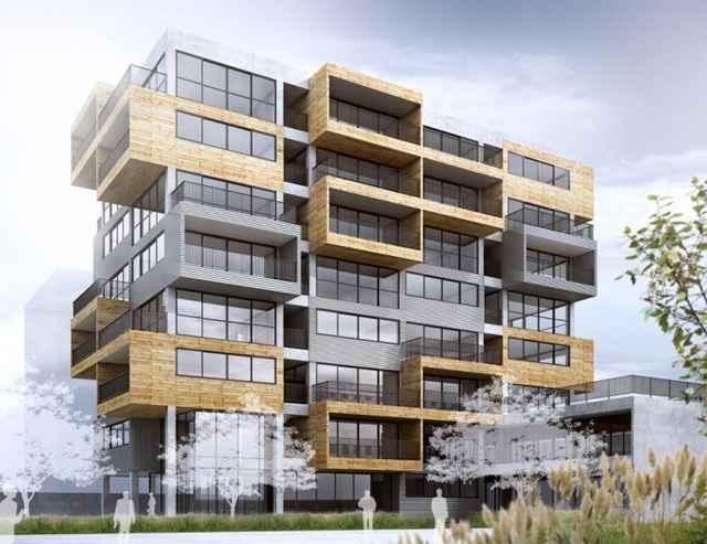 A pretensão é tirar do convencional os empreendimentos comerciais e ainda, propor diálogo com os demais prédios e a cidade como um todo - Divulgação/Aum Arquitetos