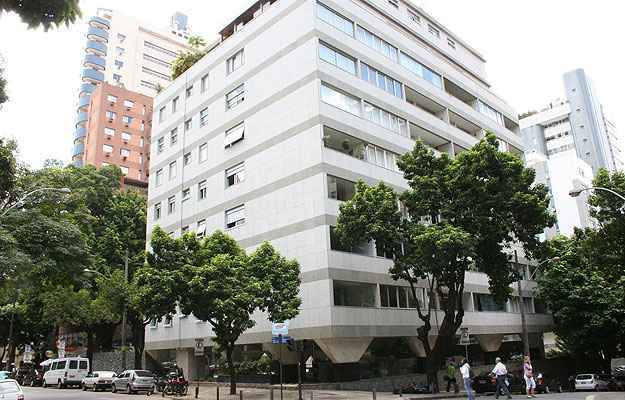 Este prédio na Savassi passou pelo processo de retrofit e teve a estrutura totalmente atualizada - Gladyston Rodrigues/EM/D.A Press
