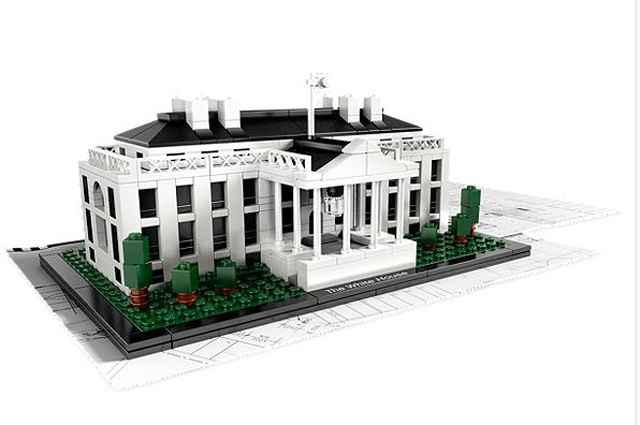 A Casa Branca - Lego/Divulgação