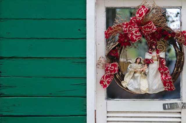 Guirlanda Sagrada Família, da Parabéns (R$ 258) - Janine Moraes/CB/D.A Press