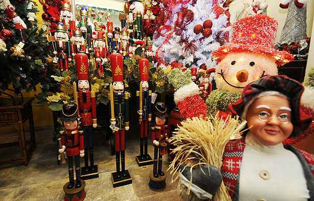 A Casa Maia aposta nos soldadinhos de chumbo para inspirar a magia de Natal  - Jair Amaral/EM/D.A Press
