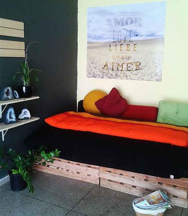 Uso das cores na parede, na roupa de cama, em quadros e em objetos de decoração contribui para aumentar o bem-estar  - Arquivo Pessoal/Divulgação