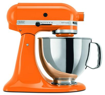 Batedeira Stand Mixer na cor Tangerine, Kitchen Aid (R$ 1.999) - Divulgação/Kitchen Aid