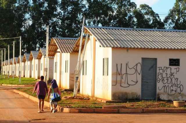 O intuito é conceder subsídios, com recursos da União, para as comunidades tradicionais com renda mensal bruta anual de até R$ 60 mil - Edílson Rodrigues/D.A Press